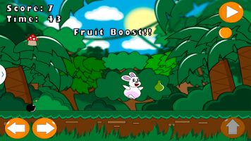 Screenshot of Rabbit Fruit Collector