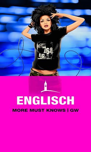 ENGLISCH More Must Knows GW