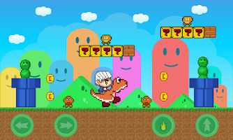 Screenshot of Super Andrio World
