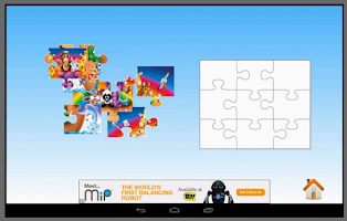 Screenshot of Noah Arks Kids Jigsaw Puzzles