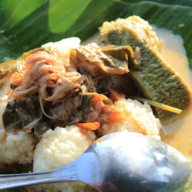 NASI PINGGEL by Andi Yuliansyah - Food & Drink Eating ( rice, indonesia, food,  )