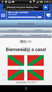 Basque Country News and Radios - screenshot
