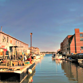Portland, Maine by Suzie Reen - City,  Street & Park  Neighborhoods ( water, maine, boat, city, Urban, City, Lifestyle )