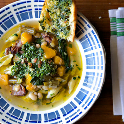 Squash and Bean Minestrone