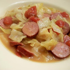 Cabbage and Sausage Crock Pot