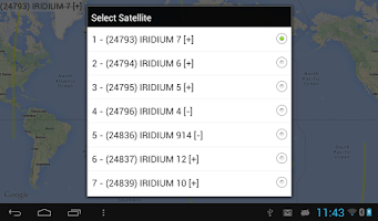 Screenshot of Iridium