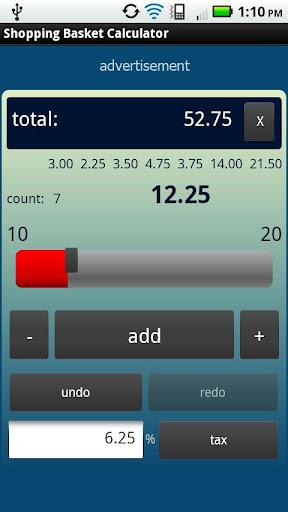 Shopping Basket Calculator