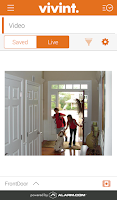 Screenshot of Vivint Classic