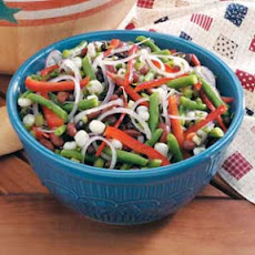 Hominy Bean Salad Recipe