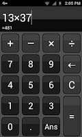 Screenshot of My Basic Calc (Calculator)