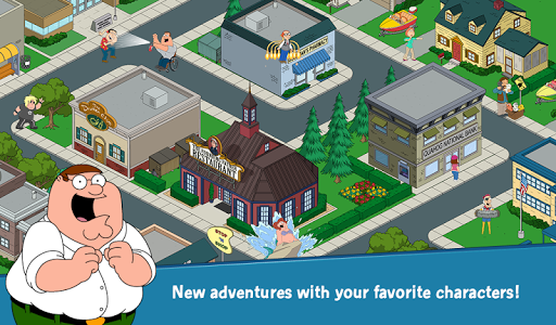 Family Guy The Quest for Stuff - screenshot