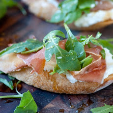 Prosciutto and Ricotta Crostini with Honey Recipe