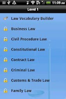 Screenshot of The Language of Law