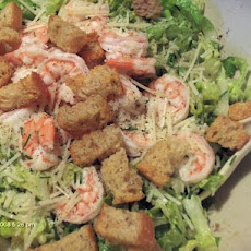 Caesar Salad Chiffonade With Shrimp or Crab