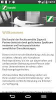 Screenshot of Rechtsanwälte Zipper & Partner