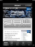 Screenshot of Internet Station Basslover