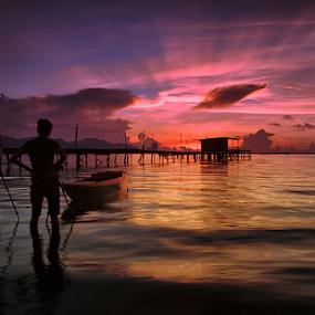 by Dadi Cai - Landscapes Sunsets & Sunrises