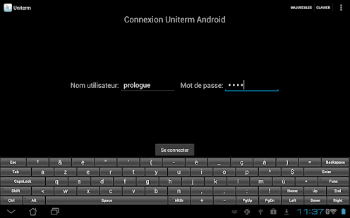 Uniterm Android 1.3.2 - screenshot