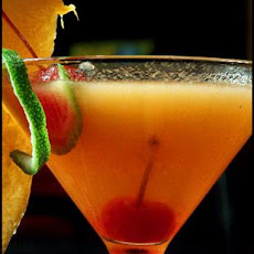 Carolina Cantaloupe Martini