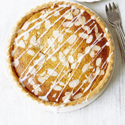 Lighter Bakewell tart