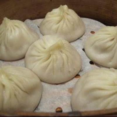 Chinese Chicken And Ginger Steamed Buns