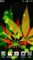 Screenshot of Weed Live Wallpaper