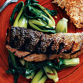 Grilled Mahimahi with Tamarind Glaze