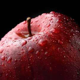Apple #3 by Rakesh Syal - Food & Drink Fruits & Vegetables