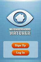 Screenshot of Neighborhood Watcher