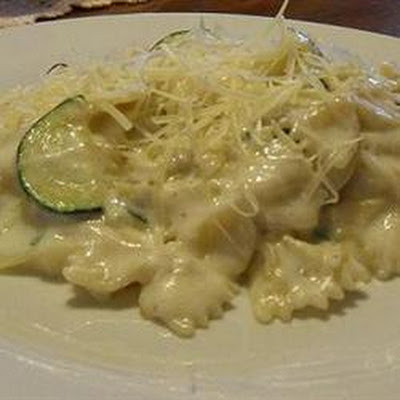Farfalle Pasta with Zucchini and Lemon-Cream Sauce
