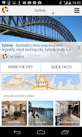Screenshot of Sydney City Guide