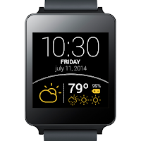 Screenshot of Weather Wear Watch Face