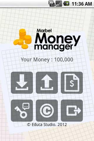 Marbel Money Manager