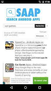 Search Android Apps - screenshot