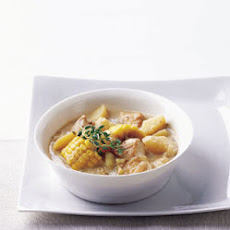 Old-Fashioned Chicken and Corn Stew