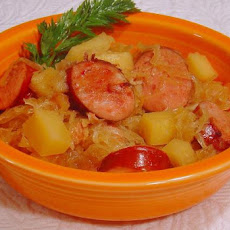 Jolean's Crock Pot Old World Sauerkraut Supper