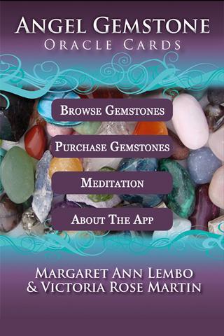 Angel Gemstone Oracle Cards