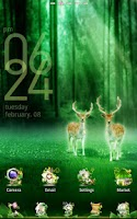 Screenshot of Forest GO LauncherEX Theme