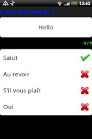 Screenshot of Pocket Polyglot French
