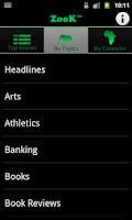 Screenshot of Zook - African News & Media