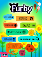 Screenshot of Furby