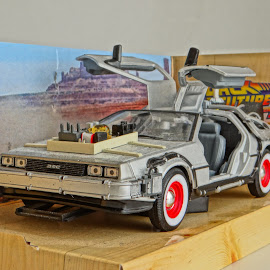 Back To The Future II by Sercan Dalkılıç - Artistic Objects Toys