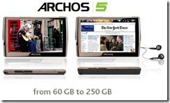 archos 5 picture