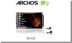 archos 5g picture