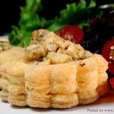 Chicken Vol-Au-Vents