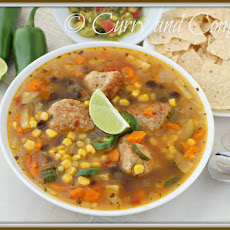 Mexican Meatball Soup (Albondigas)- Throwback Thursday