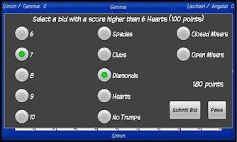 Screenshot of Five Hundred