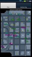 Screenshot of DC Universe Online Map