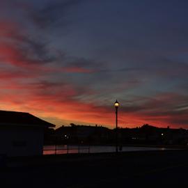 Stone Pony Sunset by Gary Ambessi - Landscapes Sunsets & Sunrises
