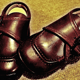 Todds Baby Shoes 2 by Cindy Brown - Artistic Objects Clothing & Accessories